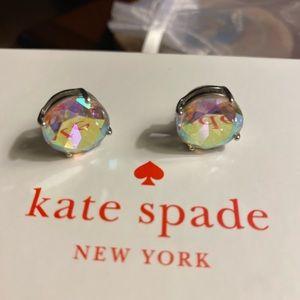 Rainbow crystal Kate spade earrings